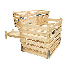 Andere Holzkisten aus Holz für Kohl und Gurke
