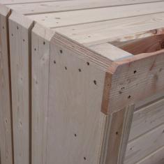 Bon prix pour les caisses en bois