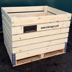 Die beste Holzkonstruktion für Obstverpackungen aus Holz