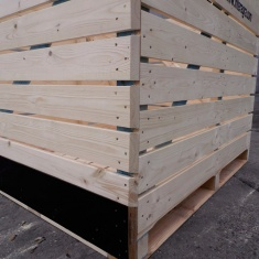 Drewniane opakowania ze sklejką Producent