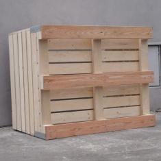 Holzkisten für Äpfel