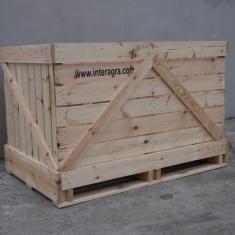 Holzkisten für Gemüse