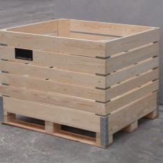 Holzkisten für Obst und Gemüse