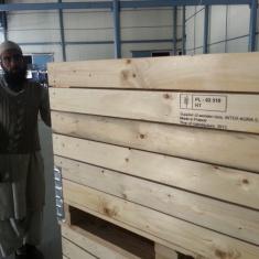 Holzkisten in allen Teilen der Welt