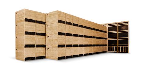 Holzkonstruktionen für Sonderbelüftungssysteme