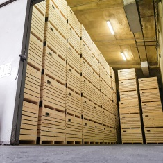 Inter agra wooden boxes for fruit and vegetable storages (1)
