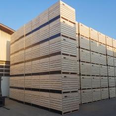 Potato crates - forklift