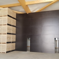 air walls for drying vegetables