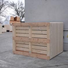 caisses en bois pour les légumes