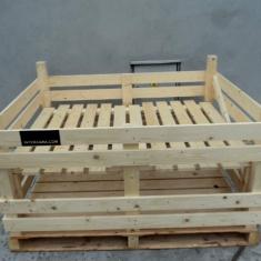 caisses en bois pour les pastèques