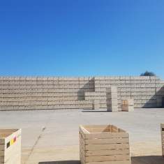 potato and vegetable storage boxes Inter Agra
