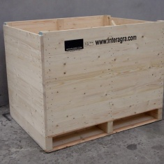 wooden bin for onion