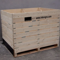 wooden boxes for special ventilation system