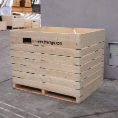 wooden boxes for vegetable strorage