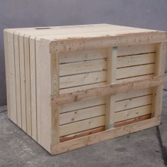 wooden boxes for vegetables