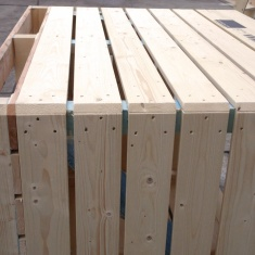 wooden crates for onion storage